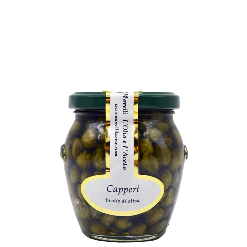 CAPERS IN OLIVE OIL GR.185