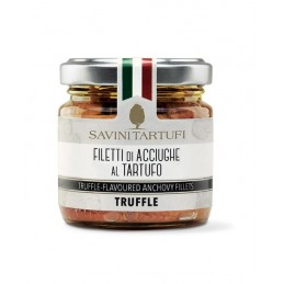 Filetti di acciughe al tartufo 100 gr