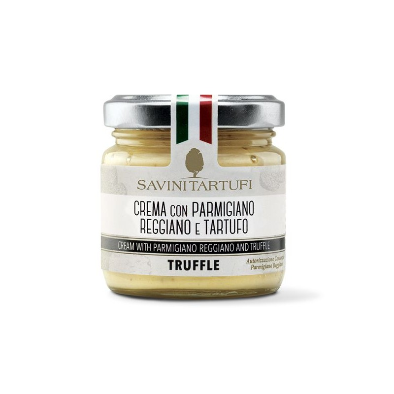 Cream with Parmesan cheese and truffle 90 gr