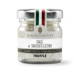 Salt with summer truffle
