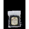 Gebackene schwarze Cerignola-Olive im Beutel