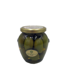CERIGNOLA GREEN GIANT OLIVE IN VASE