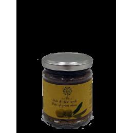 Pastete der grünen Oliven