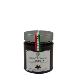 CREMA SPALMABILE GIANDUIA ALL'OLIO EXTRA VERGINE DI OLIVA