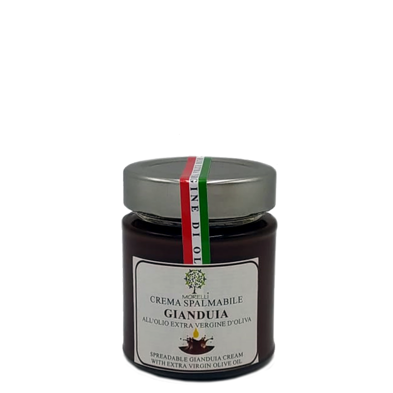 SPREADABLE GIANDUIA CREAM WITH EXTRA VIRGIN OLIVE OIL