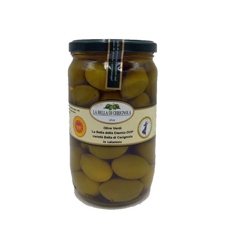 """GREEN OLIVES """"DOP LA BELLA DI CERIGNOLA"""" 720"""