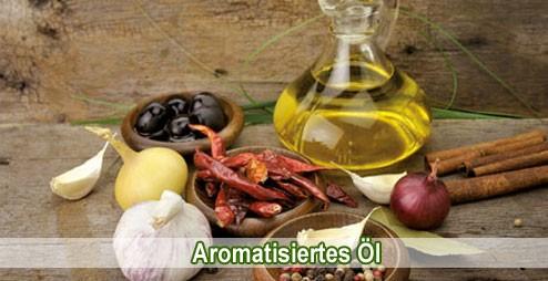 Bio aromatisiertes Öl Morelli