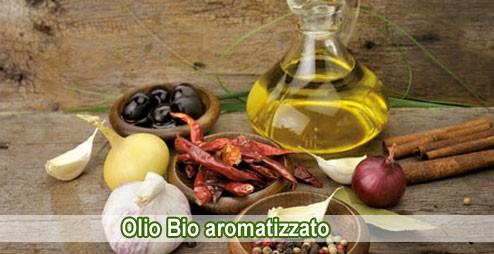 Olio Bio aromatizzato Morelli