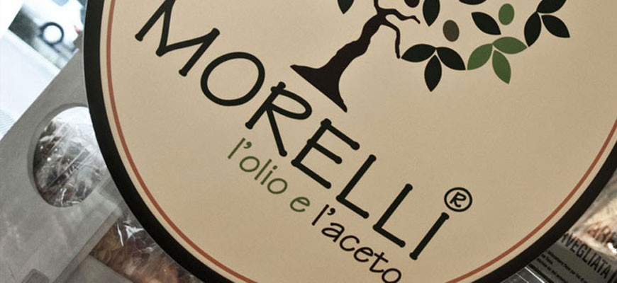 Morelli oil and vinegar sale and tasting of typical Garda products